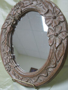 small Oval floral MIRROR