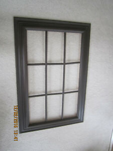 Decorative Window picture frame 30 x 45 inches