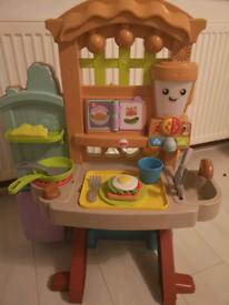 Kitchen and garden