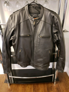 3XL Leather riding jacket 'High Mileage' Brand new