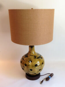 Lampe de Table Chalvignac - Vintage Chalvignac Table Lamp