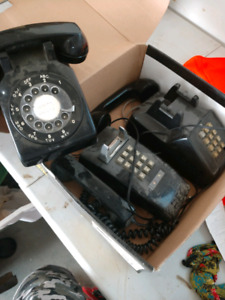 Old telephones for free