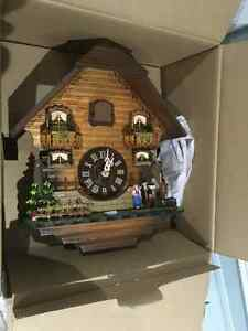 Authentic Pure Wood Automatic Musical Cuckoo Clock