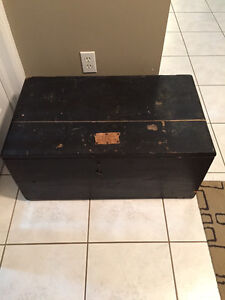 Vintage Carpenter's Box and Vintage Blanket Box.Need to Go!