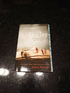 "Used Gayle Forman's ""If I Stay"""
