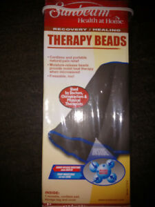 Sunbeam Recovery Healing Therapy Beads Hot & Cold Pad