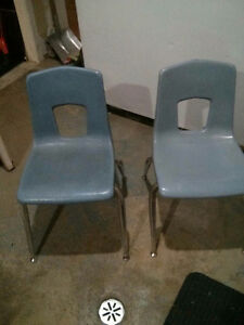 Old classroom chairs 2 London Ontario image 1