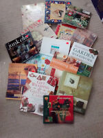 15 Hardcover Art, Crafts, Design and Garden books