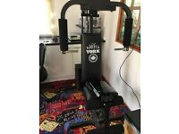 York multi-gym weight bench home gym