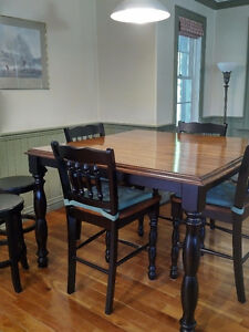 Dining or kitchen table and chairs