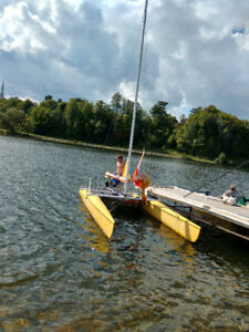 18 foot catamaran for sale