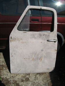Western pair of doors for 1953-55 Ford pickup, sell or trade London Ontario image 3