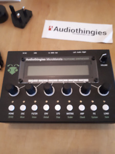 Audiothingies Micromonsta Polyphonic Deskstop Synth, Synthesizer