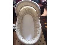 Baby bear mamas papas basket £20