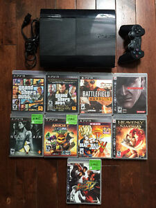 Playstation 3: 1 Controller and 9 Games included. $150.00 OBO