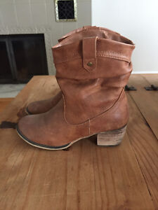 Women's cowboy boots, real leather