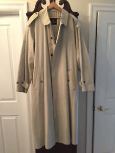 Raincoat  Long  Trench Like  - Werther