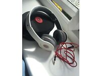 Genuine 'Beats by Dre' white Headphones
