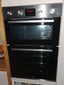 LAMONA by Howdens built in electric double oven
