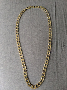 """24"""" gold thick chain"""