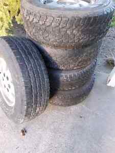 4X 245 75 R16 tires for sale