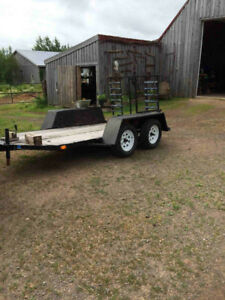 tandem trailer for sale