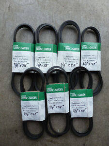 mower belts
