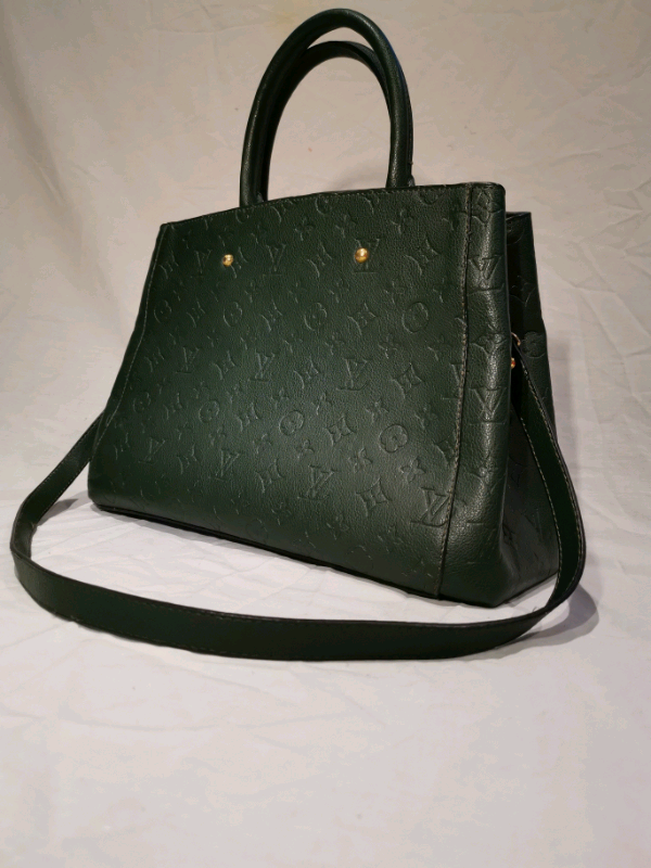 46ab60fc Vintage Louis Vuitton Green Leather Handbag | in Sheldon, West Midlands |  Gumtree