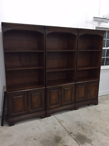 Bassett Book Shelves & Hutch! Great Shape - $1500 for all!