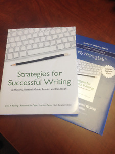 Strategies for Successful Writing - Sixth Canadian Edition