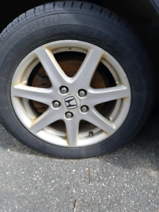 Honda wheels tires
