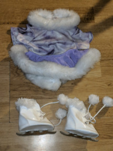 Build-a-Bear Figure Skating Outfit