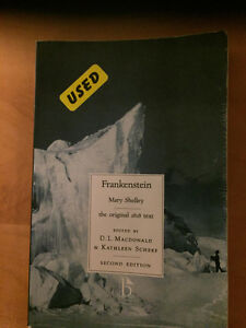 Frankenstein 2nd Edition by Mary Shelley