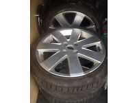 5 focus mp3 wheels and tyres