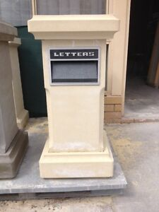 Sand stone letter boxes on special price factory direct  Landsdale Wanneroo Area Preview