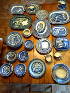 Blue Willow Collection of China