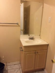 Complete Vanity with mirror for sale