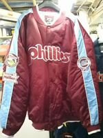 COOPERSTOWN MLB COLLECTION PHILADELPHIA PHILLIES 5XL JACKET