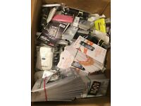 JOBLOT 300++ HTC & BLACKBERRY CASES & SCREEN PROTECORS