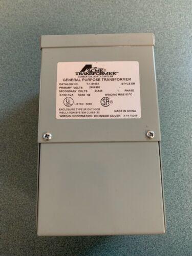 Acme Electric General Purpose Transformers, Buck Boost Series T-1-81062