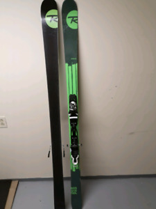 Rossignol Sprayer skis with bindings