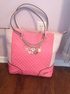 GUESS quilted tote