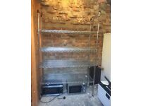 Used Wire Mesh Storage Unit