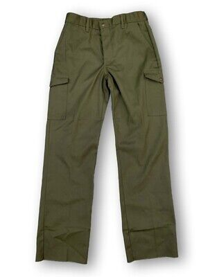 Boy Scouts Of America Mens 32 Cargo Pants Olive Green Excellent