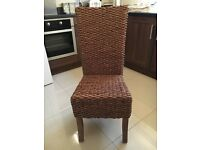 Brand new next dining chairs