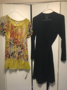 Maternity Clothes (and nursing t-shirt!), Great Condition