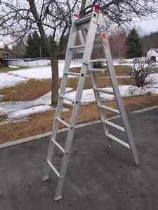 Aluminium ladder 8 foot