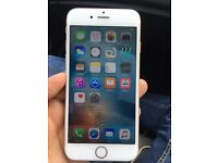 Iphone 6 gold 128 gb faulty