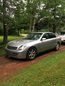 2004 Infiniti G35x for sale or trade for a 4x4 truck/4 runner