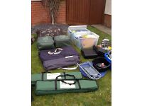 Complete set of camping kit